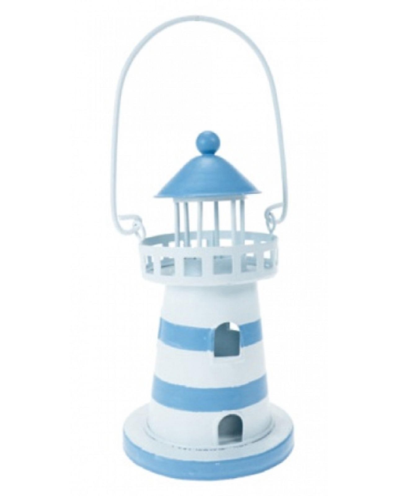 Nautical Decor / Light / Lantern / Small / Lighthouse / Tea Light