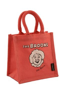 The Bairn Face - Cute Small Shopping Bag - Gift Bag - The Broons - Pink