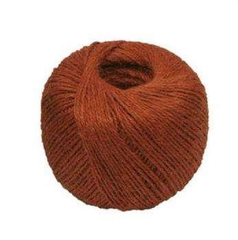 Jute 3 ply Twine - Crafts - Gardening - Rust Red