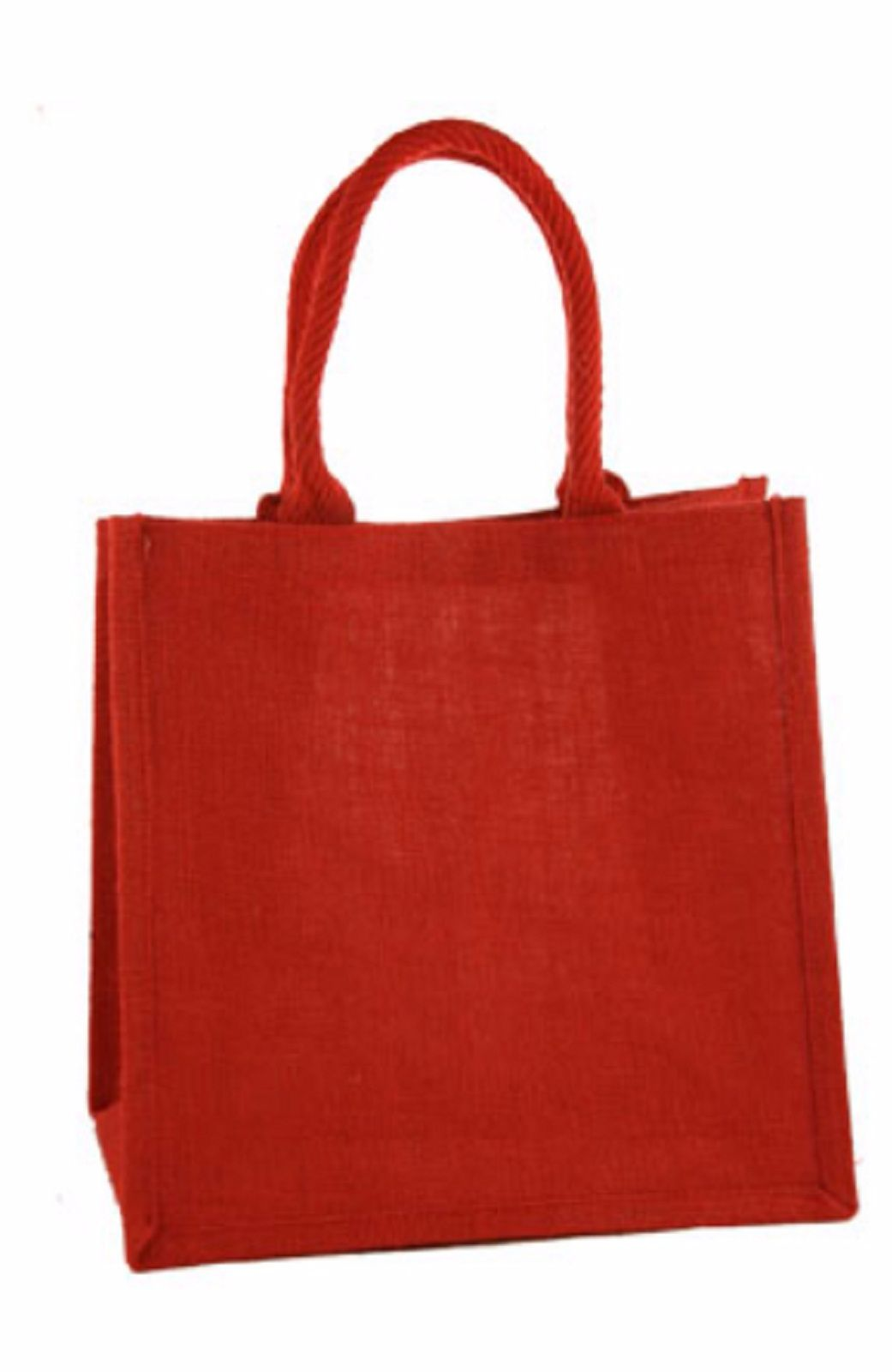 Medium Jute Shopping Bags - Various Colours - Seconds - £1.20