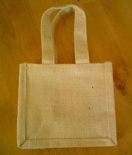 Jute Party Bags/Wedding Favour/Gift/CD/DS/Wii Bags