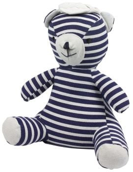 Jack the Sailor Navy Blue and White Striped Door Stop Character 1.5 kg heavy weight