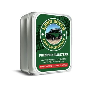 Land Rover First Aid Plasters in a Keepsake Tin