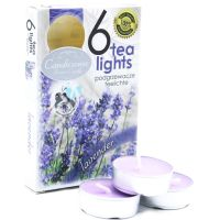 Lavender Scented Tea Light Candles 6 pack