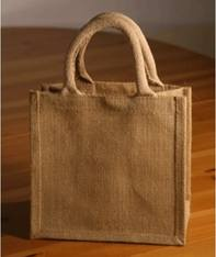 15 x Luxury  Natural Jute Bags  20 x 20 cm