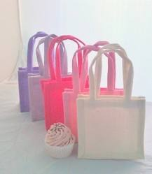 Jute Party/Gift/Wedding Favour Bags x 10 pack