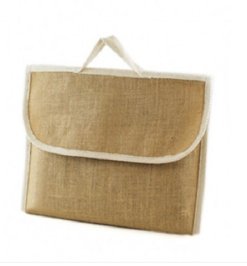 10 x Jute Hessian School Book Bag - Conference - Delegate Bags