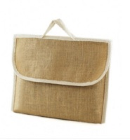 1 x Jute Hessian School Book Bag - Conference - Delegate Bags