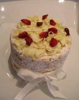 Design - White Chocolate & Cranberry Delight