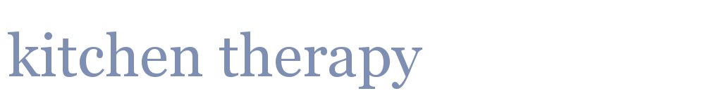 www.kitchen-therapy.co.uk, site logo.