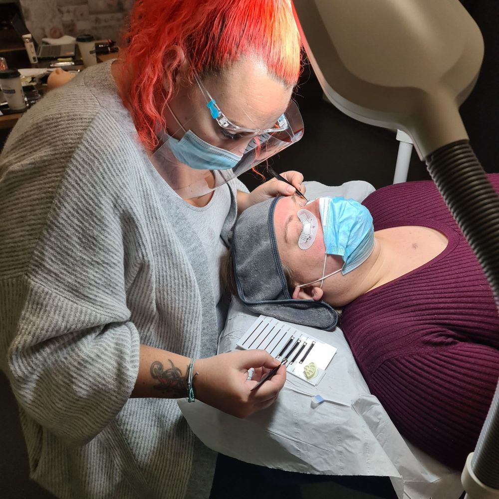 Russian Volume Eyelash Extension Course (Small Group)