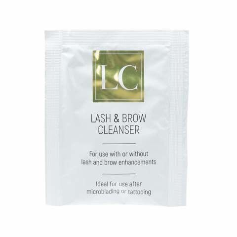 Lash and Brow Cleanser Sachet