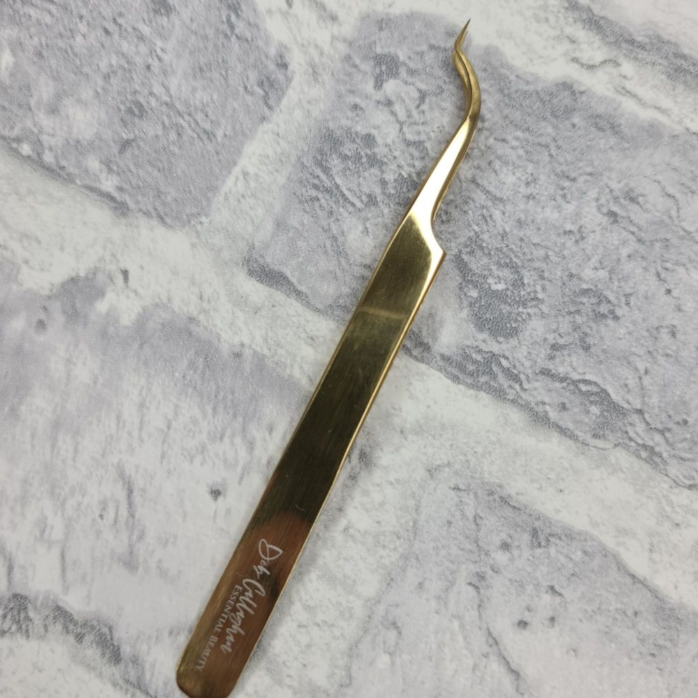 Z Type Tweezer - Perfect for Classic and Volume Eyelash Extensions
