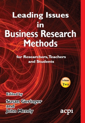 Leading Issues in Business Research Methods Vol 2