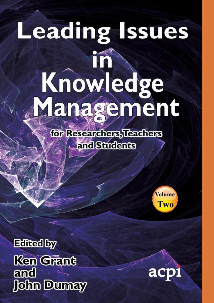 Leading Issues in Knowledge Management Vol 2
