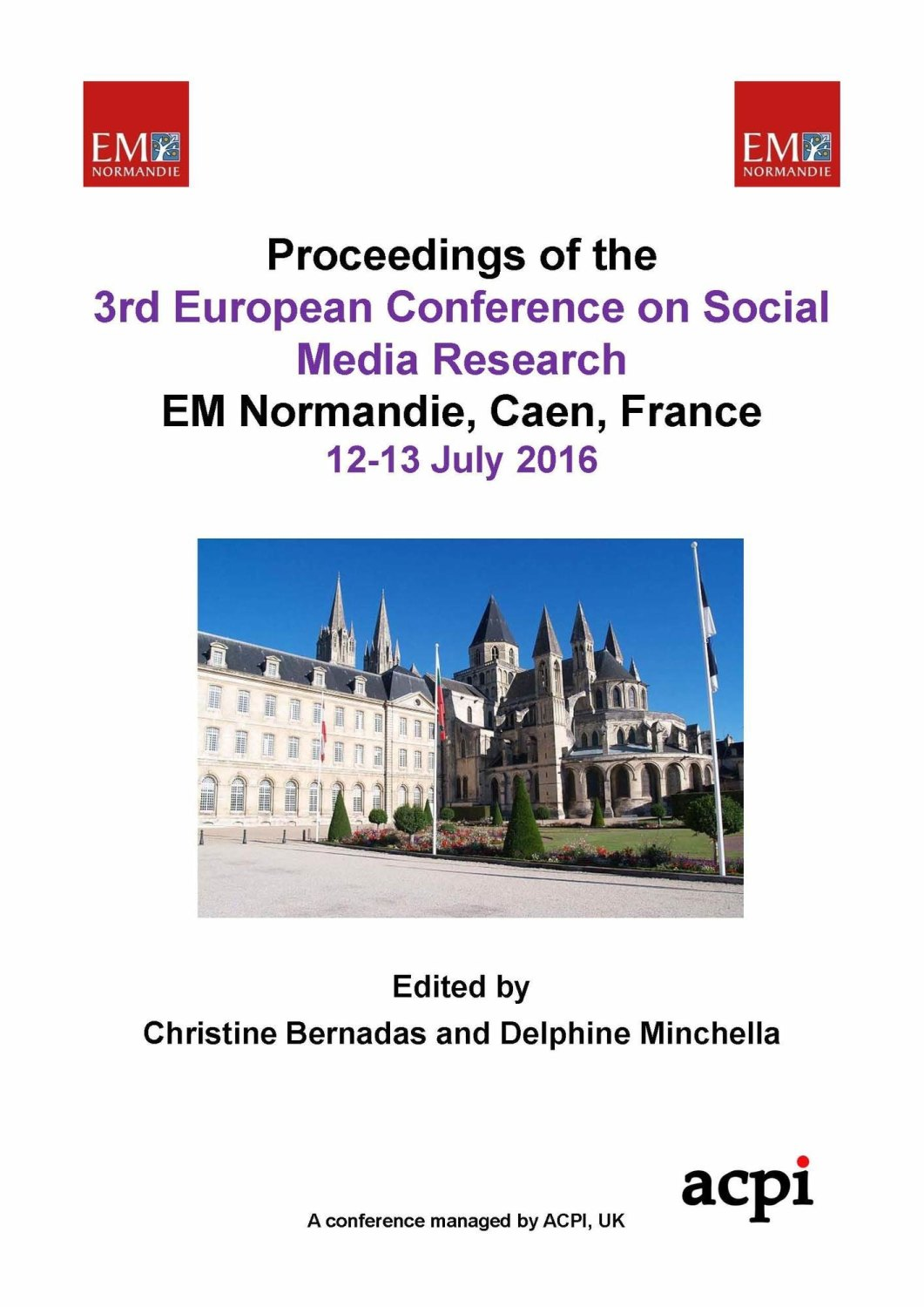 ecsm 2016 proceedings of the 3rd european conference on social media. Black Bedroom Furniture Sets. Home Design Ideas
