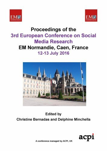 ECSM 2016 - Proceedings of The 3rd European Conference on Social Media -