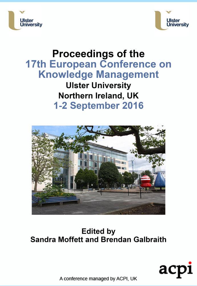 ECKM 2016 Proceedings