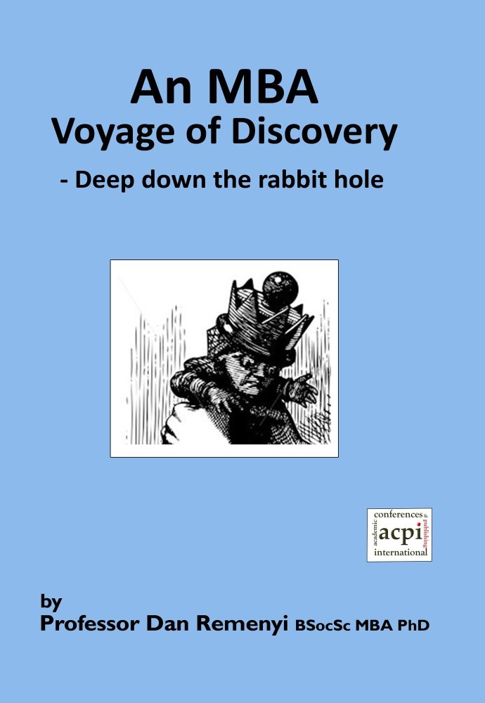 An MBA Voyage of Discovery -  Deep down the rabbit hole