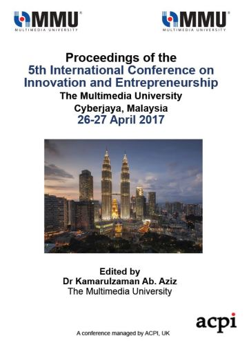 ICIE 2017 PDF - Proceedings of the 5th International Conference on Innovation and Entreprenurship