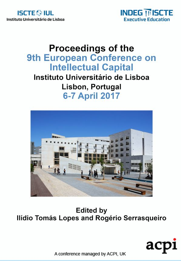 ECIC 2017 PDF - Proceedings of the 9th European Conference on Intellectual Capital