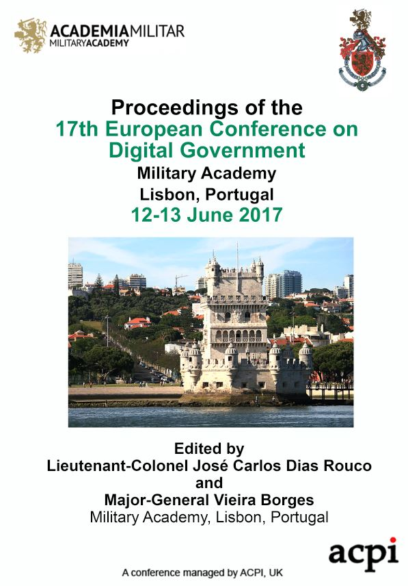 ECDG 2017 PDF - Proceedings of the 17th European Conference on Digital Government
