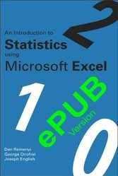 <!--101-->An Introduction to Statistics using Microsoft Excel - ePUB version