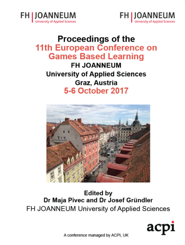 ECGBL 2017 PDF - The 11th European Conference on Game-Based Learning