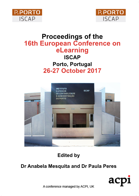 ECEL 2017 PDF - Proceedings of the 16th European Conference on e-Learning