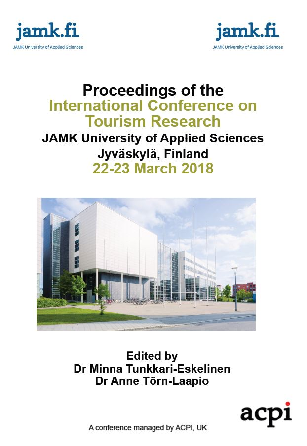 ICTR 2018 PDF - Proceedings of the International Conference on Tourism Research