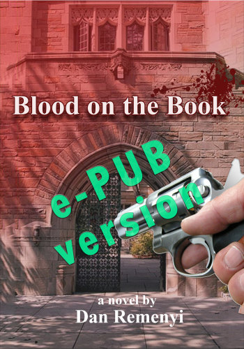 Blood on the Book e-PUB version