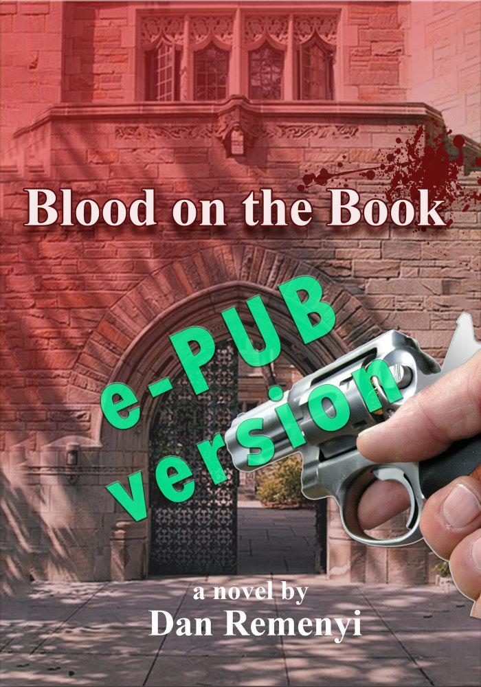 Blood on the Book e-PUB version