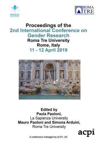 ICGR 2019 - Proceedings of the 2nd International Conference on Gender Research PRINT VERSION