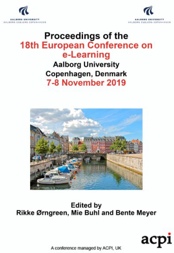 ECEL 2019 - Proceedings of the 18th European Conference on e-Learning PRINT VERSION