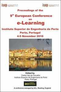ECEL 2010 - 9th European Conference on eLearning - Porto, Portugal. PRINT version