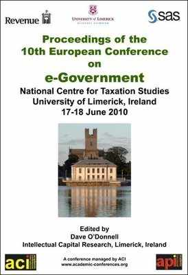 ECEG 2010 - 10th European Conference on eGovernment  - Limerick, Ireland. PRINT version