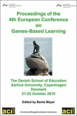 ECGBL 2010 - 4th European Conference on Games Based Learning - Copenhagen, Denmark. PRINT version