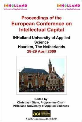 ECIC 2009 - 1st European Conference on Intellectual Capital – Haarlem, The Netherlands