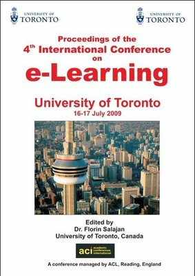 ICEL 2009 - 4th International Conference on e-Learning – Toronto, Canada