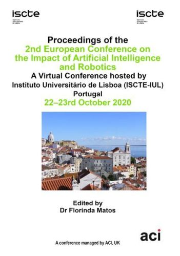 ECIAIR 2020 PDF - Proceedings of the 2nd European Conference on the Impact of  Artificial Intelligence and Robotics