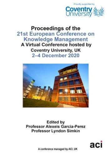 ECKM 2020 PDF VERSION- Proceedings of the 21st European Conference on Knowledge Management