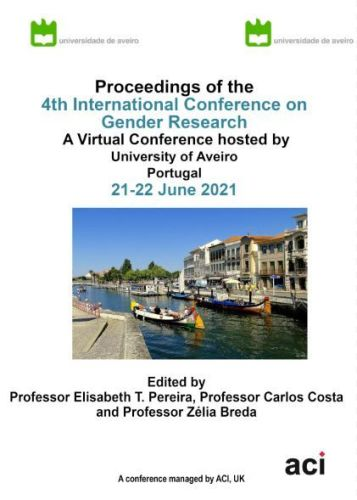 ICGR 2021 PDF VERSION - Proceedings of the 4th International Conference on Gender Research