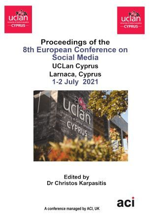 ECSM 2021 PDF VERSION- Proceedings of the 8th European Conference on Social Media
