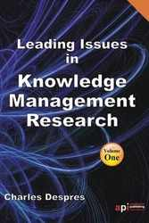 <!--130-->Leading Issues in Knowledge Management Research