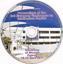 ECIC 2011 3rd European Conference on Intellectual Capital - Nicosia, Cyprus. CD version