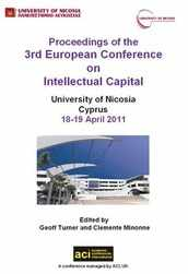 ECIC 2011 3rd European Conference on Intellectual Capital - Nicosia, Cyprus. PRINT version