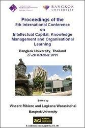 ICICKM 2011 - 8th International Conference on Knowledge Management, Intellectual Capital and Organisational Learning - Bangkok, Thailand. PRINT vers