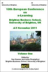 ECEL 2011 - 10th European Conference on e-Learning - Brighton, UK. PRINT version