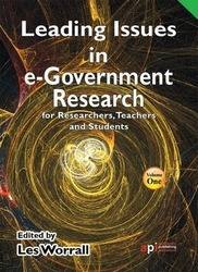 <!--140-->Leading Issues in e-Government Research for Researchers, Teachers and Students
