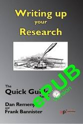 <!--100--->Writing up your Research - The Quick Guide ePUB version
